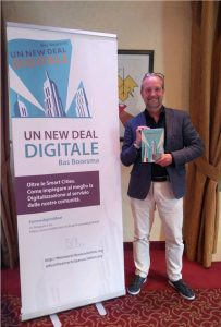"""Interview to Bas Boorsma  the author of """"A new Digital Deal"""""""
