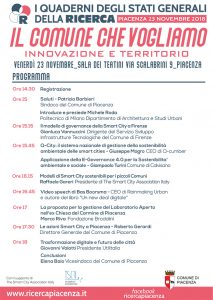 In Piacenza talks about the city we would like to have!